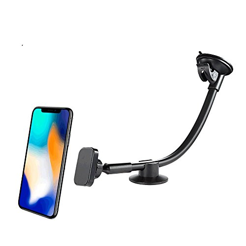 Magnetic Cell Phone Holder for Car, Newward Long Arm Windshi