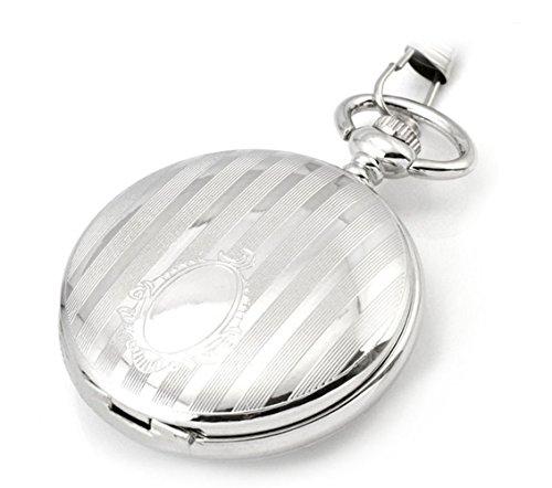 pocket-watch-mechanical-watchesautomaticwhitedouble-coverretro-gifts-w0007