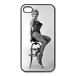 iphone4 4s phone cases Black Marilyn Monroe Phone cover NAS3830557