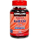 Kirkland Signature Krill Oil 500 mg., 160 Softgels
