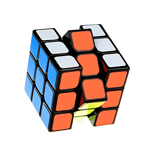 Speed Cube,Magic Cube,3x3x3 Puzzle Magic Cube, 56mm Smoothly Quicky Twist...