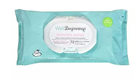 Well Beginnings Softpack gentle cleaning Scented 72.0 ea(3pack)