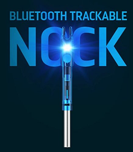 BREADCRUMB Bluetooth Trackable Technology Hunting Arrow Nock, S/GT .244/.246, 3 Pack