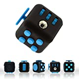 Blue Fidget Cube Toys for Stress, Fidgeting and Anxiety EDC Toy for Adults and Children with ADHD, OCD, Anxiety Disorder and Antsy Habits Everyday Carry