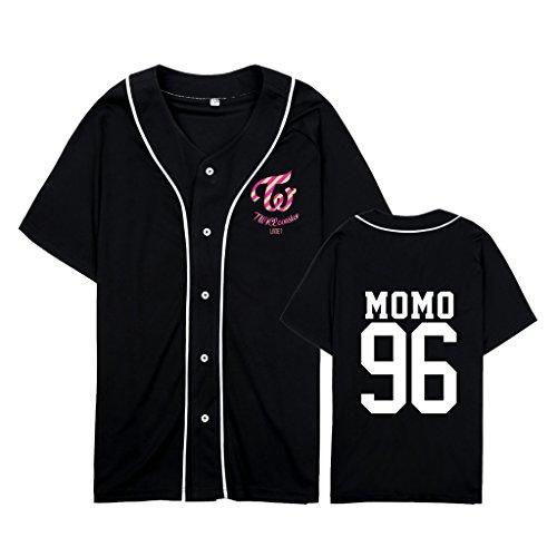 babyHealthy Twice Same Style Hip-hop Shirt Mina Sana Momo Tzuyu Tee ()