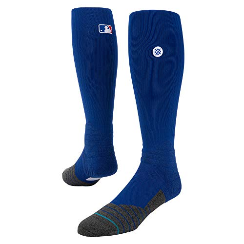 Stance M759C16DIA Men's Diamond Pro OTC Sock, Brightroyal - Large - Men Socks Diamond