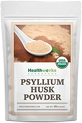 Amazon com : Healthworks Psyllium Husk Powder (16 Ounces / 1