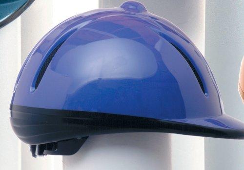 Devon-aire Volwassen Paardensport Helm Paars Glans