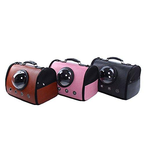 - S-Fire Pet Supplies Handbags Pet Bag Linen Breathable Cat Dog Travel Large Capacity Bag,Yellow 462335Cm