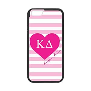 Kappa Delta Pink Stripes iPhone 6 4.7 Inch Cell Phone Case Black phone component AU_603283