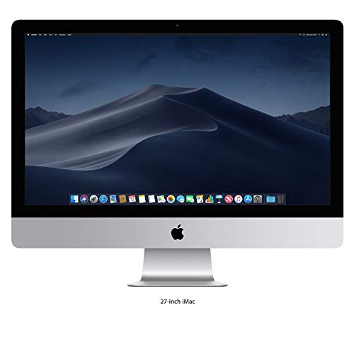 "Price comparison product image Apple 27"" iMac with Retina 5K Display (Mid 2017) - 4.2GHz Intel Quad-Core i7 Processor,  32GB DDR4 Memory,  2TB Fusion Drive,  4GB AMD Radeon Pro 575,  macOS,  Silver"
