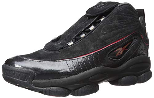 - Reebok Unisex Adult's Iverson Legacy, Black/White red Brass, 11 M US