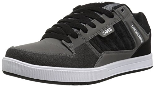 Black Chaussures Homme DVS Charcoal Shoes Leather de Portal Skateboard TwUgwz1q