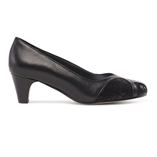 Black Shoes Combi Padders Cour Joanna Womens De qwxXTIX1g