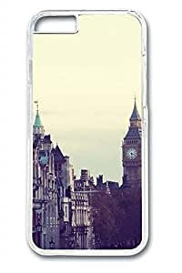 City Sights 01 Slim Soft Cover for iPhone 6 Plus Case ( 5.5 inch ) PC Transparent Cases