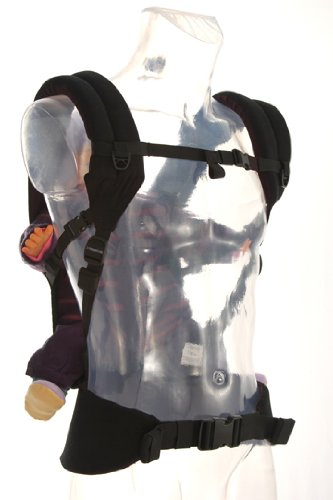 Amazon Com Patapum Toddler Carrier Black Child Carrier Front