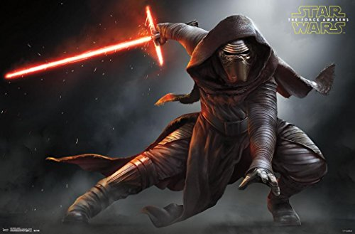 Star Wars: The Force Awakens Kylo Ren Stance Poster