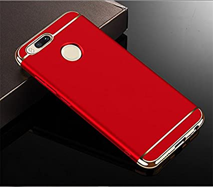 reputable site af51b fa7c3 AEETZ® Xiaomi MI A1 case, Mi A1 Back Cover, Ultra-thin 3in1 Eventual Series  New Luxury 360 Degree Protection 3in1 back cover case For MiA1 back cover  ...