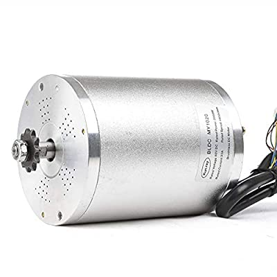 48V 1000W Brushless Mid Drive motor, 1500W 1600W 2000W Electric Bike Motor, High speed motor for Mountain Bike Accessories Go kart Tricycle Scooter Conversion Kit