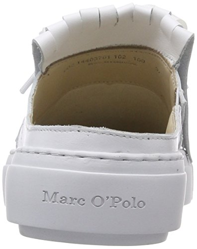 Sneaker Trainers Women's Marc White White 80214403701102 O'Polo zwTcqHg