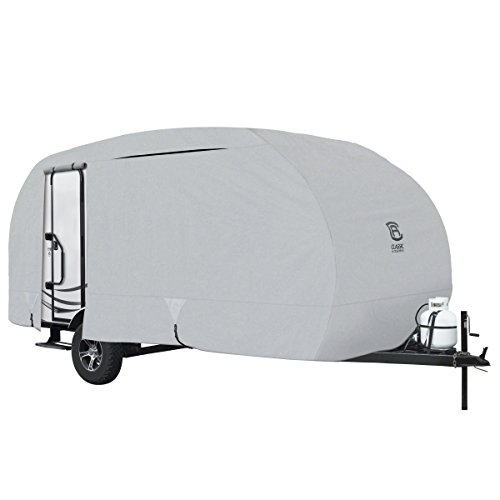 Classic Accessories OverDrive PermaPRO Deluxe R-Pod Cover, Fits up to 20 long Trailers - Lightweight Ripstop Fabric with RV Cover (80-257-171001-00)