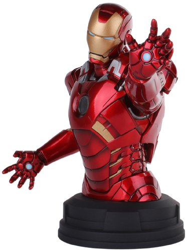 Ironman Mini Bust (Gentle Giant Studios The Avengers: Iron Man Deluxe Mini-Bust)
