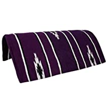 "Tahoe Tack Navajo Acrylic Hand Woven Pony Saddle Blanket Pad 26"" X 26"" at Wholesale Price"