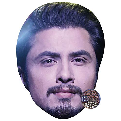 Celebrity Cutouts Ali Zafar Big Head. Larger Than Life mask.