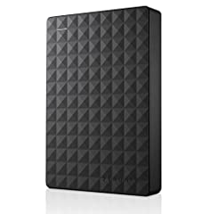 Easily store and access 4TB of content on the go with Seagate Expansion Portable. Designed to work with Windows computers, this compact external hard drive makes backup a snap. Just drag-and-drop! To get set up, connect the portable hard driv...