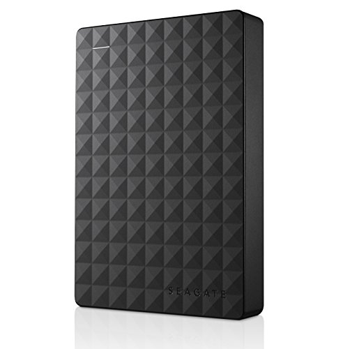Seagate Expansion Portable 4TB External Hard Drive Desktop HDD - USB 3.0 for PC Laptop (STEA4000409)