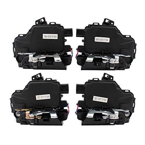NewYall Pack of 4 Front Rear left Driver & Right Passenger Side Power Door Lock Latch Actuator