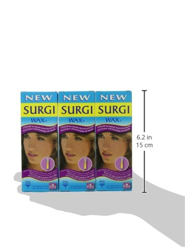 Amazon.com : Surgi-wax Professional Salon System Small Wax Refill, 0.4-Ounce Boxes : Hair Removal Wax : Beauty