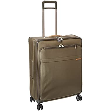 Briggs & Riley Baseline Large Expandable Spinner, Olive, One Size