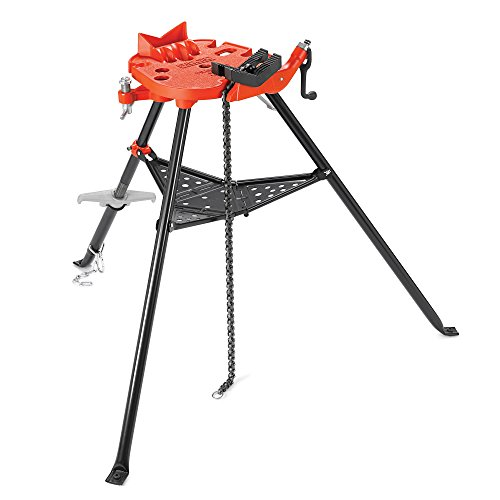 RIDGID 36278 Model 460-12 Portable TRISTAND Chain Vise, 1/8-inch to 12-inch Pipe ()