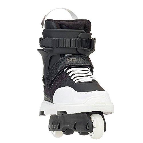 Rollerblade Men's Nj Team Street Inline Skate, Black/White, Size ()