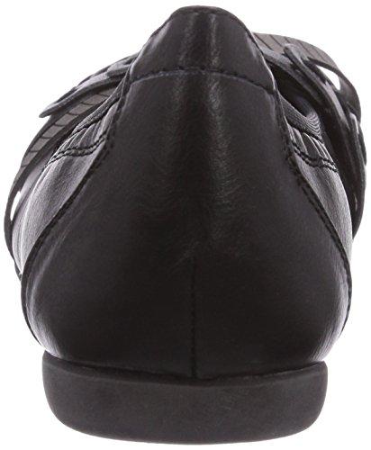Ballerine mehrfarbig 96 Ant Marco Tozzi Donna comb black Multicolore 22126 ESaWwvq