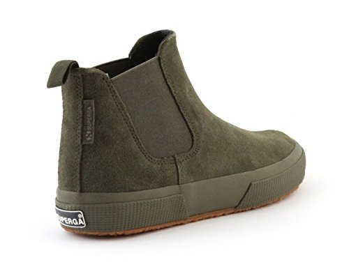 Sneaker SUPERGA 2318 SUEU FULL MILITARY GREEN Taglia 40 - Colore VERDE SCURO