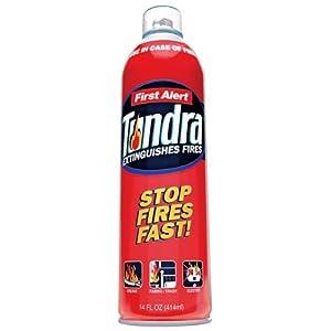 First Alert BRK AF400 Tundra Fire Extinguishing Spray, 14 oz