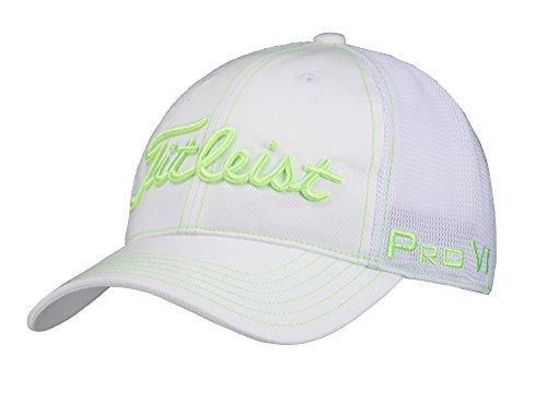 TITLEIST(タイトリスト) メッシュキャップ キャップ メンズ HJ7CRM-WTGN 白グリーン  サイズ:フリー(57-59cm)