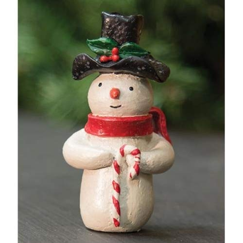 Country Crafts Resin Frosty The Snowman - 3.5