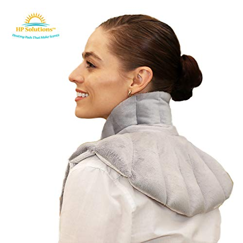 Neck Buddy Plus - Microwavable & Reusable Heating Pad for Neck, Shoulder, Upper Body - Relax & Relieve Pain and Sore Muscles - Natural Hot & Cold Pack