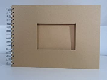 Efco album rectangulaire pour scrapbooking marron a