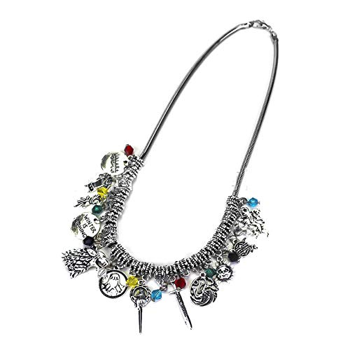 dfd385b73 Excow Jewelry Wow World of Warcraft Inspired Necklace Horde Alliance Game  Props Combination for Gamers and