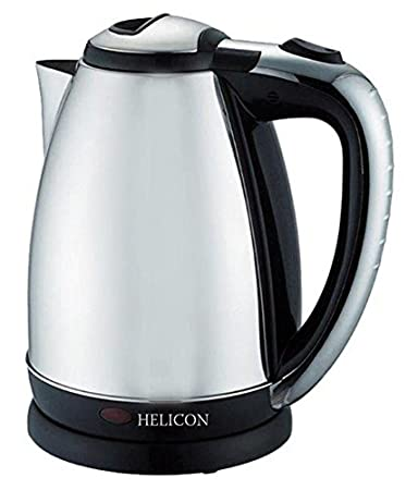 HELICON Strong Stainless Steel Body Tea and Coffee Maker Electric Kettle (2L)