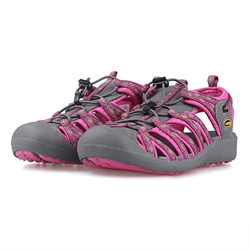 Pictures of GRITION Women Athletic Hiking Sandals Closed Toe 1801BLM 2