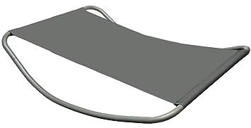 Transats à Bascule XXL | lit pour se bronzer et balancer | gris ...