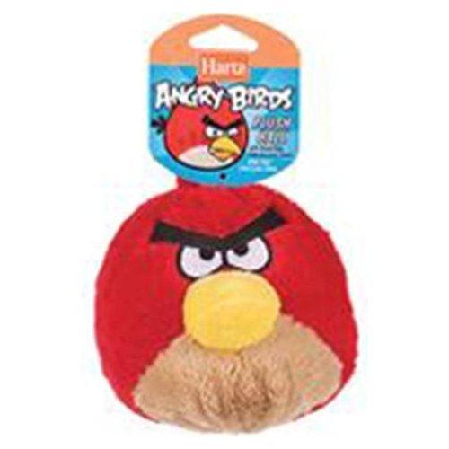 Hartz Assorted Plush Ball Angry Bird Dog Toy