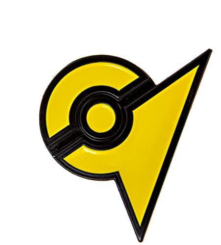 PokeSwag Yellow Gym Instinct Zapdos Team Pin