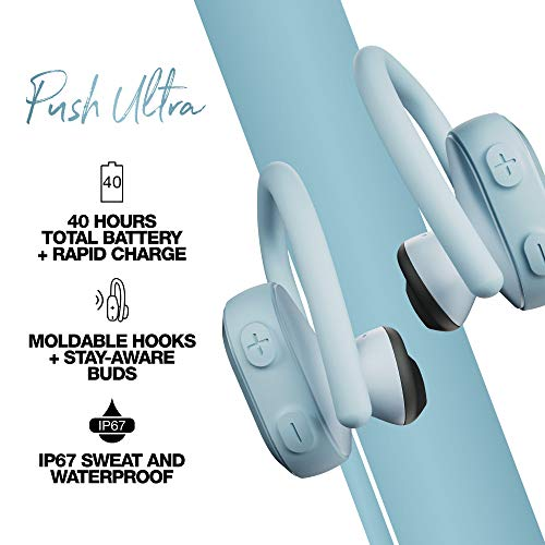Skullcandy Push Ultra True Wireless In-Ear Earbud – Bleached Blue