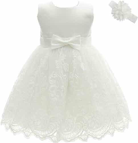 d26d71d5f AHAHA Baby Girl Princess Wedding Dresses Baptism Christening Baby Dress